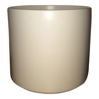 Architectural Pottery Gainey Vessel in Matte White