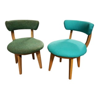 Kroehler Kid's Swivel Chairs- Set of 2