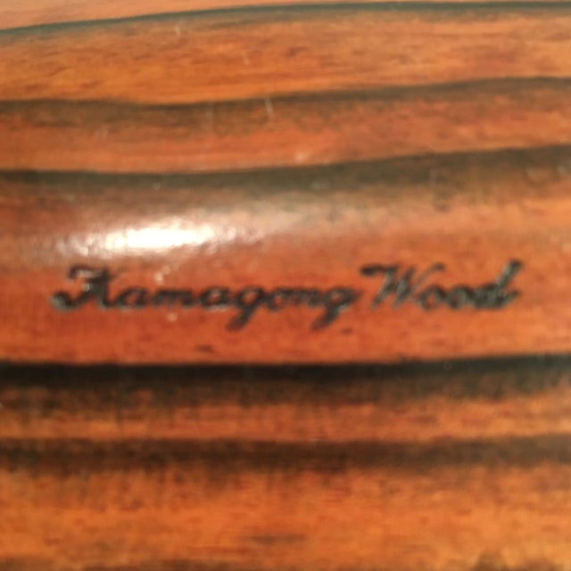 Kamagong Wood Tray - Made in the Philippines - Image 4 of 5
