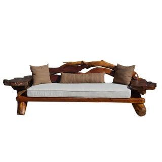 1960's George Buck Redwood Sofa