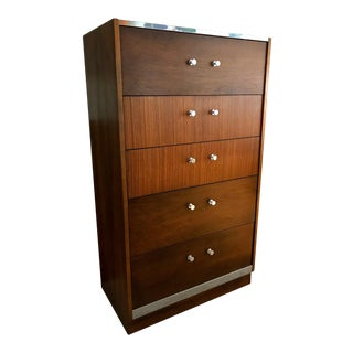 Milo Baughman for Lane Mid-Century Modern Highboy Dresser