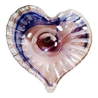 Murano Heart Shaped Bowl