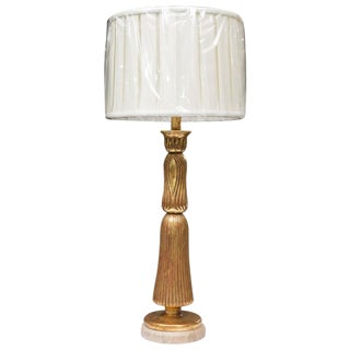 Giltwood Deco Style Table Lamp