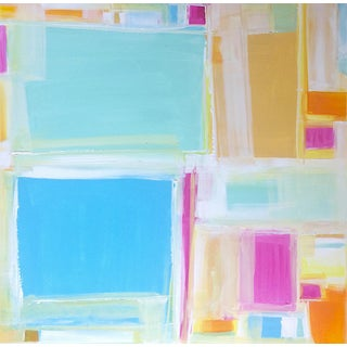 'MADRAS' Original Abstract Painting by Linnea Heide