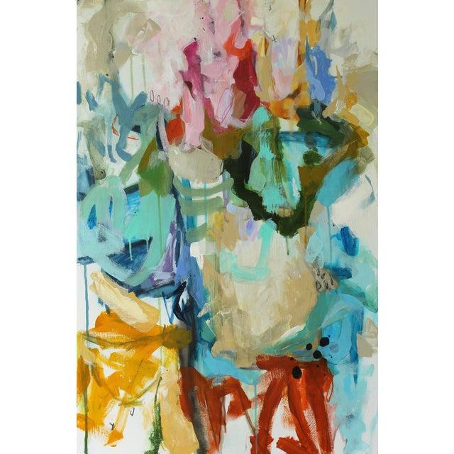 """Moko Jumbie"" Original Painting by Gina Cochran - Image 2 of 5"