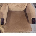 Image of Vintage Signed Parker Knoll 757 Wing Chair, Beige
