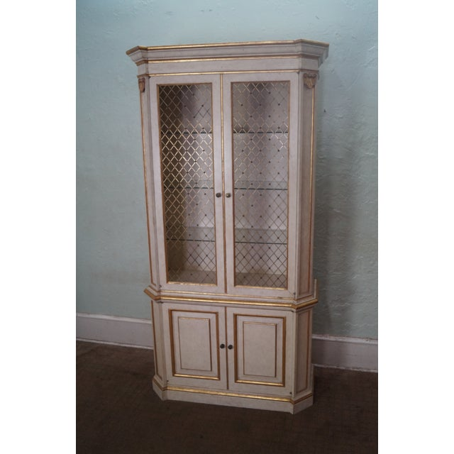 Image of Widdicomb Hollywood Regency Style Tall Cabinet
