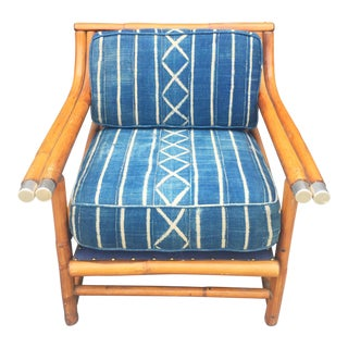 Mid-Century Rattan Arm Chair