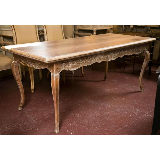 French Provincial Style Distressed Dining Table Chairish
