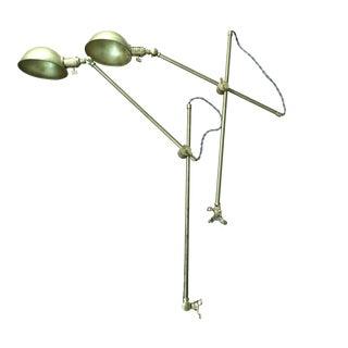 Brass Articulating Arm Lights - A Pair