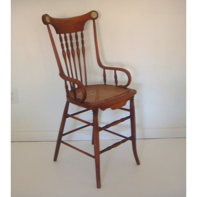 Image of Bentwood and Cane Youth Chair & Bar Stool