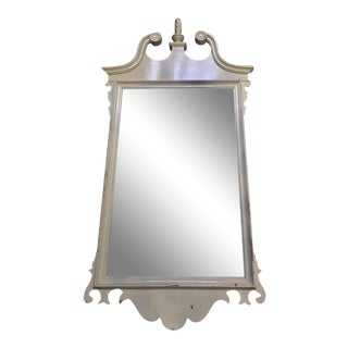 Neoclassical White Mirror