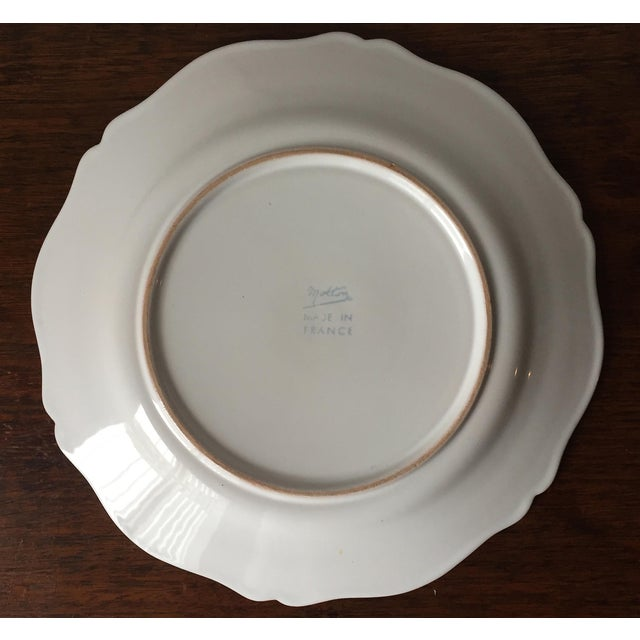 55 Piece-Rouard French Faience Glazed Terra Cotta Dinnerware-1950's - Image 7 of 8