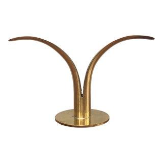 Swedish Brass Candle Holder