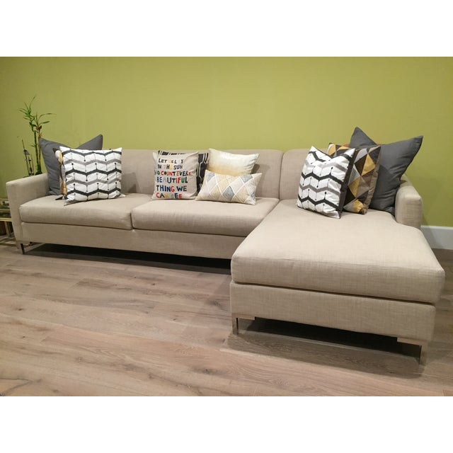 Image of Mid-Century Modern 2-Piece Sectional