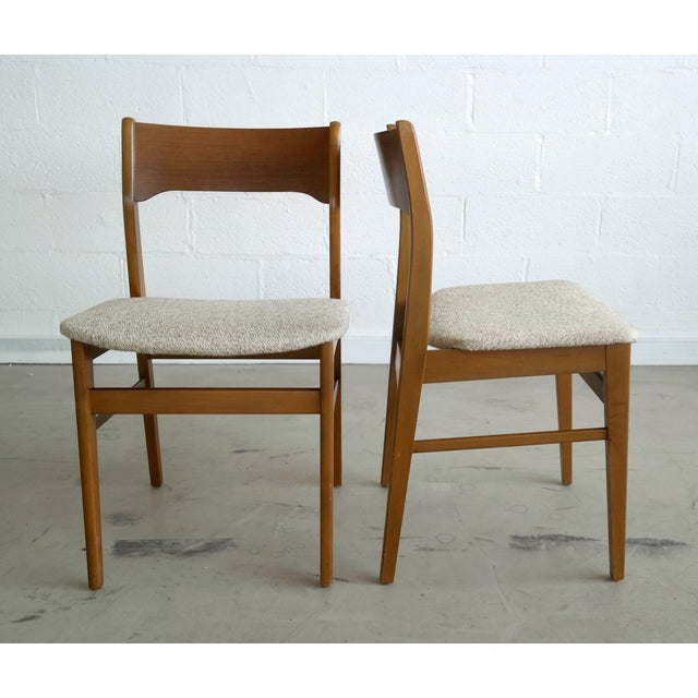 Danish Modern Dining Chairs - Set of 4 - Image 3 of 8