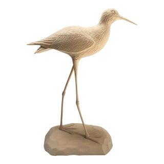 Hand Carved Wood Sea Bird
