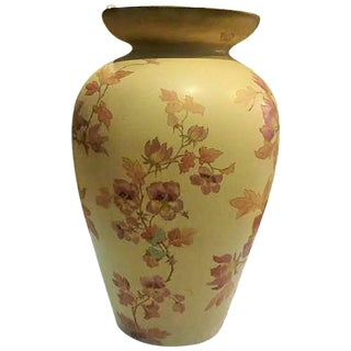 Pointons Floral Pottery Vase