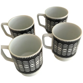 Modern Coffee Cups - Set of 4