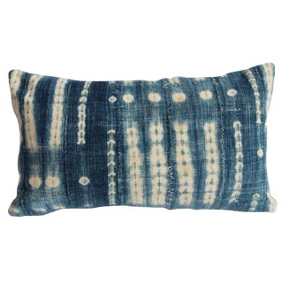 Indigo Mud Cloth Pillow