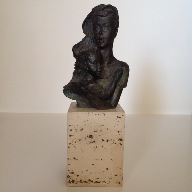 LM Lafuente Mother and Child LE Sculpture - Image 2 of 6