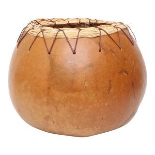 Vintage Organic Modern African Calabash Planter