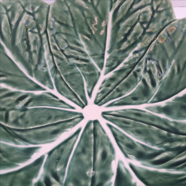 Green Lettuce Ware Bowl - Image 4 of 6