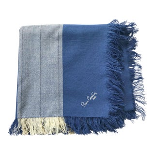 Pierre Cardin Paris Huge Wool Challis Scarf
