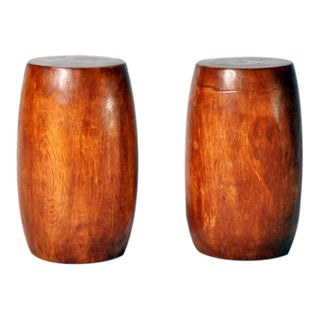Acacia Hand Made Round Stool