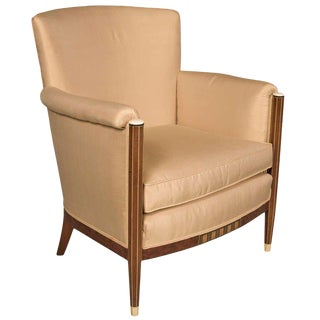 Maison Leleu French Art Deco Club Chair