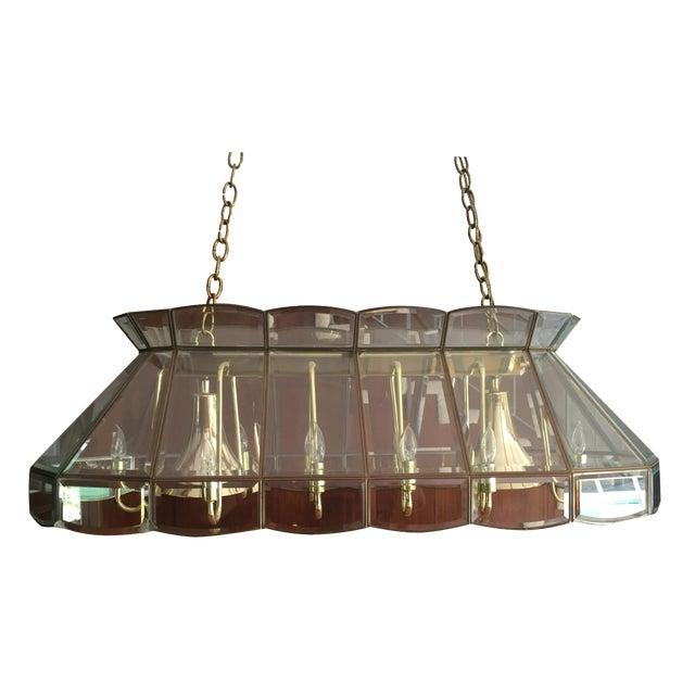 Vintage 60s Era Pool Table Light
