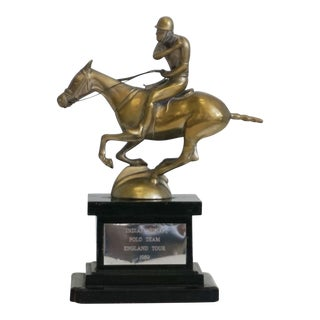 1989 England Tour Indian Army Polo Team Trophy
