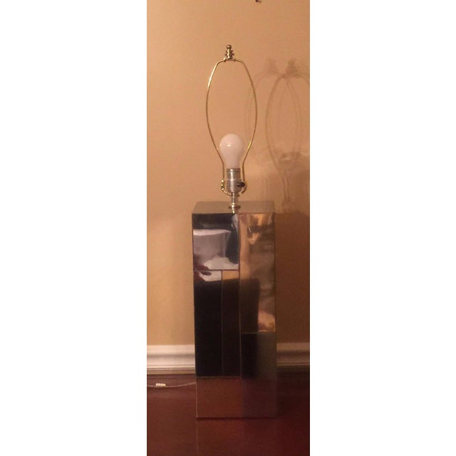 Image of Paul Evans Cityscape Table Lamp