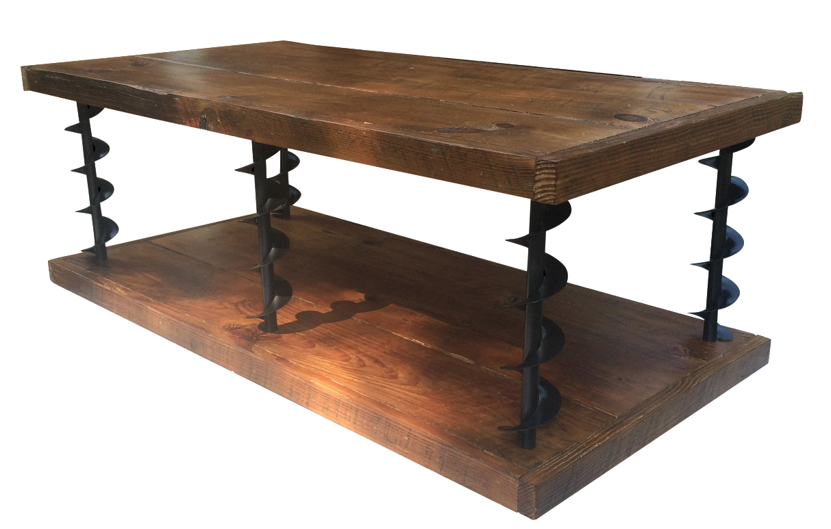 Farm Auger Coffee Table