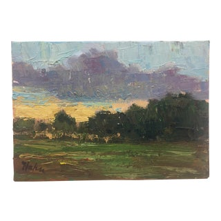 Original Painting by David Hahn Spring in Solebury