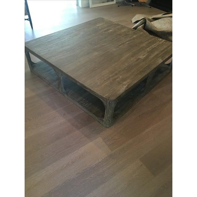Restoration Hardware Coffee Table - Image 4 of 6