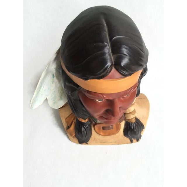 Image of Native American Bust