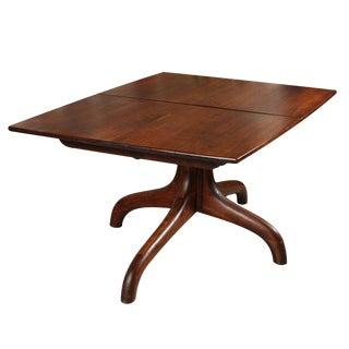 """Arthur """"Espenet"""" Carpenter Walnut Dining Table"""
