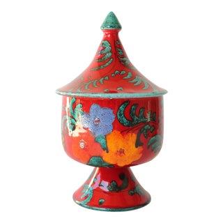 Italian Art Pottery Candy Dish