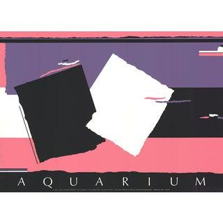 Walker Benjamin Aquarium 1986 Serigraph