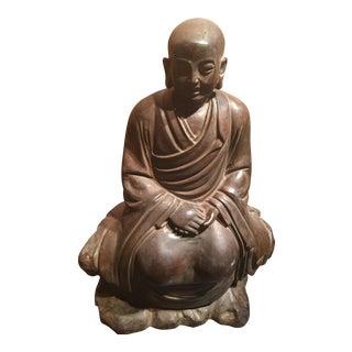 1890 Chinese Monk Figure