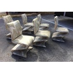 Image of Panton Style Modern Contemporary Z/ Zig Zag Dining Chairs- Set of 6