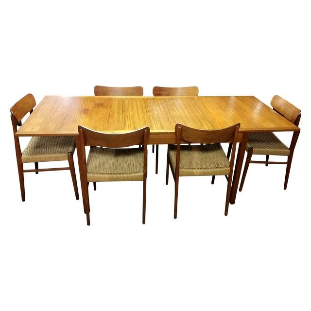 Vintage Danish Mobelfabrik Teak Dining Set - Image 1 of 10