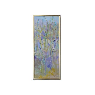1969 Abstract Oil Painting by Henrietta Watkins
