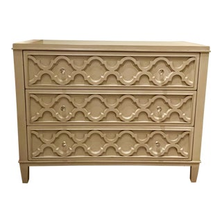 Drexel Heritage Gray Geometric Olivia Chest