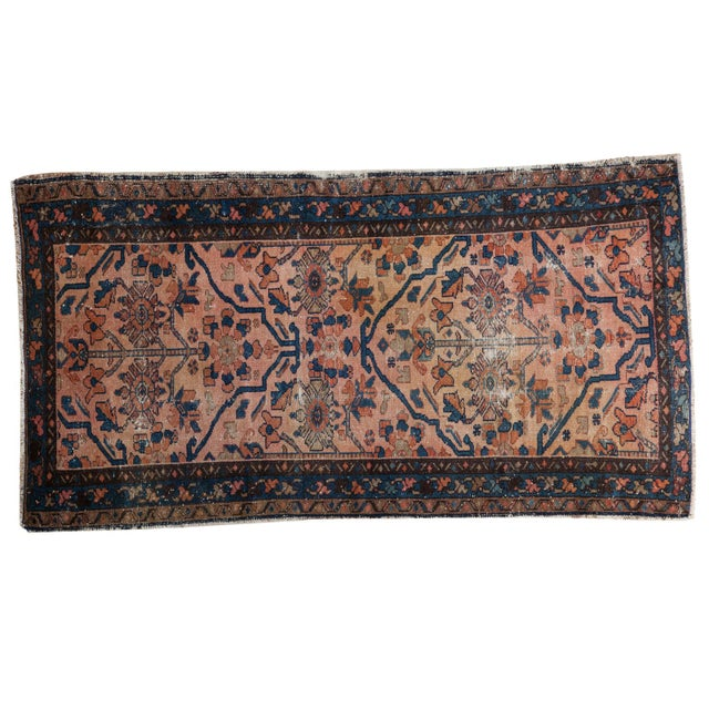 "Antique Lilihan Rug - 3'4"" X 6'1"" - Image 1 of 9"