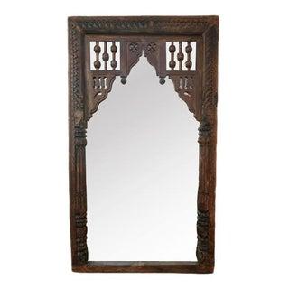 Antique Door Frame Mirror