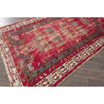 "Image of Apadana Antique Turkish Geometric Rug - 3'1"" X 5'5"""