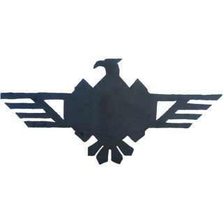 Metal Firebird Sign