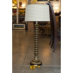 Image of Walnut Spindle Table Lamp
